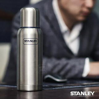 STANLEY 史丹利 10-01563 大不锈钢真空学生车载户外保温瓶  不锈钢色1000ml