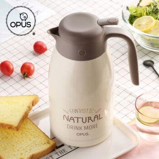 OPUS 81508 大容量真空不锈钢保温瓶  暖白色 2000ML