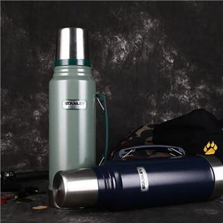 STANLEY 史丹利 10-01254 不锈钢大容量保温杯 蓝色1000ml