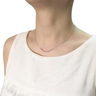 Tiffany&Co. 蒂芙尼 T系列18K白金笑脸吊坠项链  18K白金 35189424