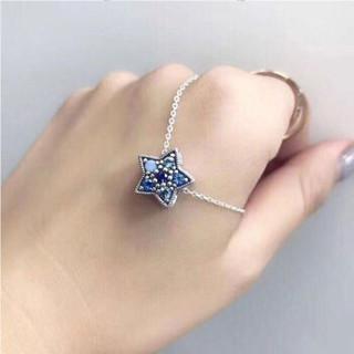 PANDORA 潘多拉 LZPDL0149 时尚蓝色五角星形项链套装 礼物LZPDL0149 蓝色 45 LZPDL0149
