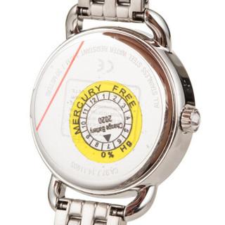 COACH 蔻驰 女士时尚链条手表  银白色14502477 14502479