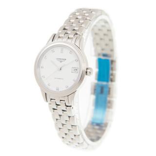 LONGINES 浪琴 瑞士手表优雅系列26mm白盘机械女表L4.274.4.27.6