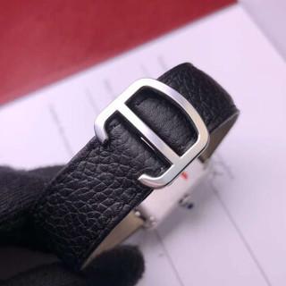 Cartier 卡地亚 手表 坦克系列石英时尚女表腕表 瑞士女士手表  WSTA0030  罗马刻度表盘 皮带 W5200005