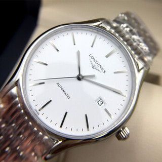LONGINES 浪琴 律雅系列 L4.960.4.12.6 男士自动机械手表