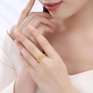 CHJ 潮宏基 黄金足金 金箍系列-金箍圈 黄金戒指  约5.75g     SRG30004686