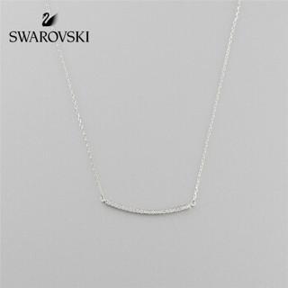 SWAROVSKI 施华洛世奇 ONLY 细致线条 含蓄简约 精致时尚 女项链饰品 女友礼物 镀玫瑰金色 5464129