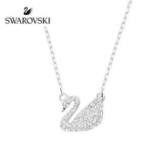 SWAROVSKI 施华洛世奇 SWAN PAVE 时尚天鹅锁骨链 5187404 女友礼物