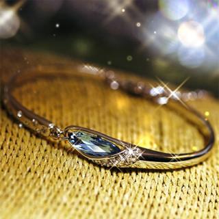SWAROVSKI 施华洛世奇 十二星座手链女士925银镶嵌施华洛世奇锆手镯 七夕情人节生日礼物送女友 双鱼座手链(925银版) G4231