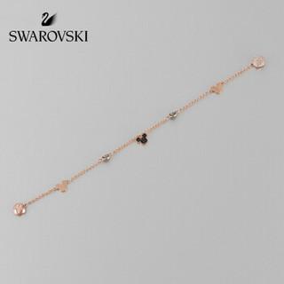 SWAROVSKI 施华洛世奇 隐形磁扣 米奇老鼠 千变万化 手链女 女友礼物 镀玫瑰金色 5462360