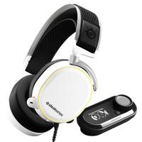 steelseries 赛睿 游戏耳机 (白色、有线)