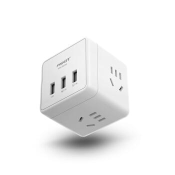 PISEN 品胜 多功能无线墙插转换器旅行充电器