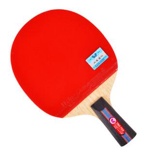 Butterfly 蝴蝶牌 七星乒乓球拍直拍 双面反胶碳素底板专业选手单拍 702-CS