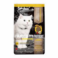 nutram 纽顿 T24 去骨鳟鱼三文鱼全期 猫粮 12磅/5.45KG