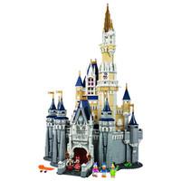 LEGO 乐高 积木 迪士尼城堡玩具 【含遥控LED灯组】71040 迪士尼城堡