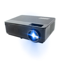 Poner Saund 轰天炮 新款H1S投影仪4K全高清1080P办公家用手机3D迷你电视家庭影院 H1SW套餐三四角矫正 AI语音 安卓 WiFi 黑色