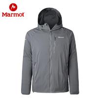 marmot土拨鼠新款夏季户外经典神衣超薄透气男士皮肤防晒衣风衣外套_