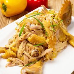 新鲜宰杀散养180天清远鸡  整鸡 1.1kg/只 *2件