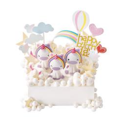 好利来 彩虹天使 15cm 酸奶提子口味生日蛋糕 (仅限北京订购)