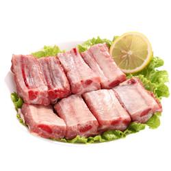 对面小城 黑猪肉排骨 1000g *2件