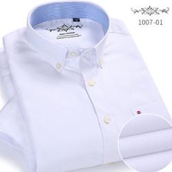 悍库 1006 男士牛津纺长袖衬衫