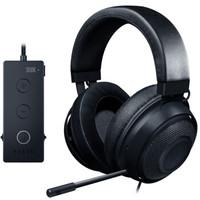 RAZER 雷蛇 游戏耳麦 (黑色、有线、3.5毫米接口+USB音频控制器)