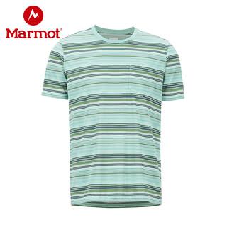 Marmot 土拨鼠 男士运动防晒短袖速干T恤 R43780
