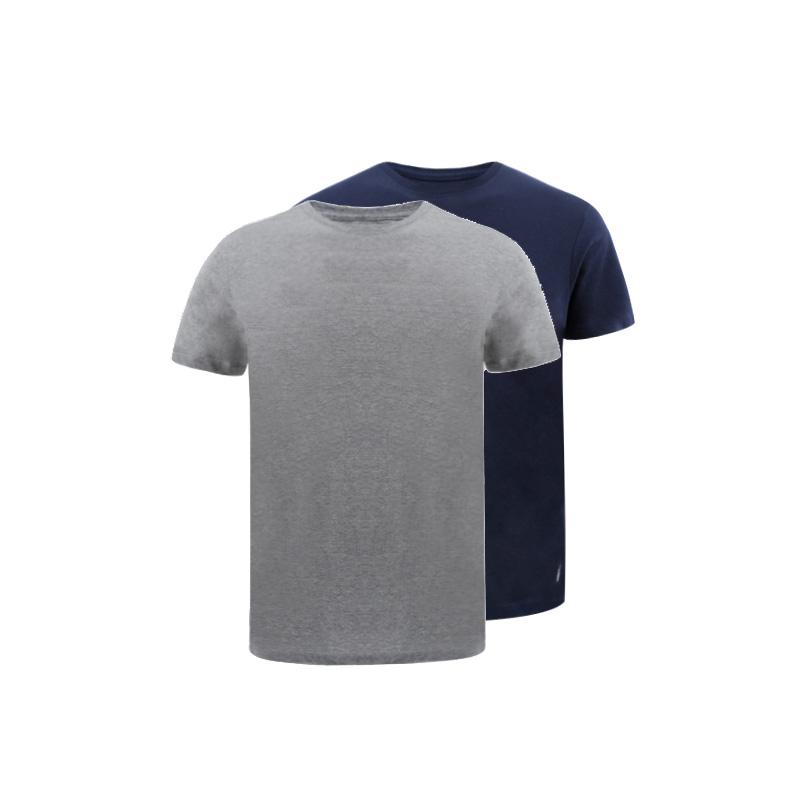 RALPH LAUREN 拉尔夫·劳伦 男士舒适型圆领T恤 2件装 *3件