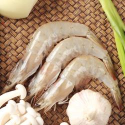 浓鲜时光 厄瓜多尔白虾 净重1.5kg  *3件