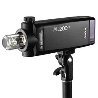 神牛(Godox ) AD200pro口袋摄影灯外拍灯 佳能尼康索尼通用高速TTL机顶灯
