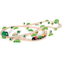 Hape 火车轨道 E3713 森林历险套装