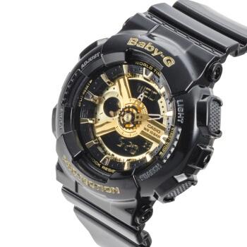 卡西欧(CASIO)手表G-SHOCK系列 防震防水多功能潮流经典黑金运动男表时尚腕表 GA-110GB-1A
