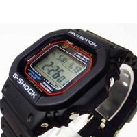 卡西欧(CASIO)男表 G-SHOCK小方块电子表防水运动方形手表男 GW-M5610-1