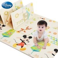 Disney迪士尼双面折叠爬行垫XPE加厚宝宝爬行垫