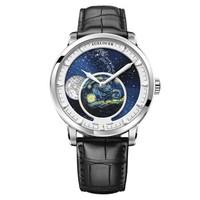艾戈勒(agelocer)博世月相系列 瑞士进口手表男全自动机械表  6401A1