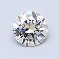 Blue Nile 1.00克拉 圆形钻石(切工EX,成色I,净度VS1)