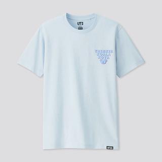 UNIQLO 优衣库 男士T恤UQ417664001 宝蓝色 S