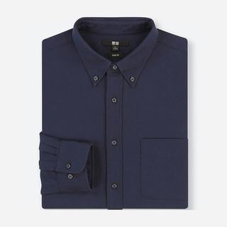 UNIQLO 优衣库 男士牛津纺修身衬衫(长袖) 404394