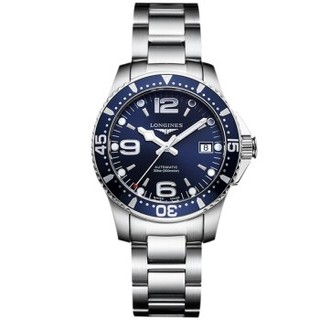 LONGINES 浪琴 康卡斯系列 L3.741.4.96.6 男士自动机械手表