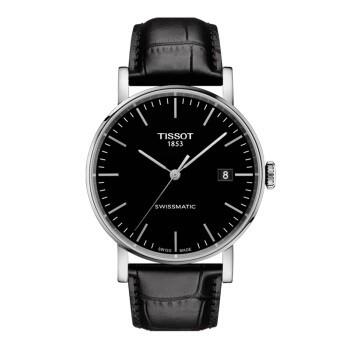 天梭(TISSOT)瑞士手表 魅时系列皮带机械男士手表T109.407.16.051.00