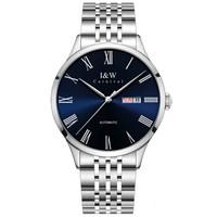 I&W CARNIVAL HWGUOJI手表男女情侣手表进口机芯全自动机械表男女士机械手表情侣手表