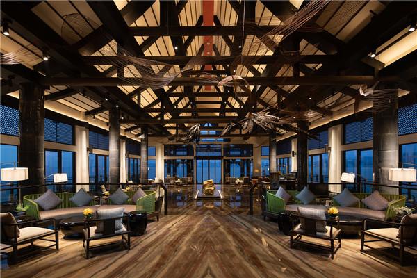270度观景大堂,三面望海,全开放式露台!珠海凤凰湾悦椿酒店1晚套餐