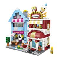 LOZ 俐智 拼插积木 迷你街景系列 甜品店+雪糕店