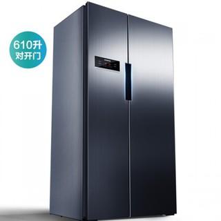 SIEMENS 西门子 KA92NV66TI 对开门变频冰箱 610L