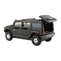 多美(TAKARA TOMY)742753 TOMY多美卡合金仿真小汽车模型男玩具车15号悍马H2越野车模 *3件
