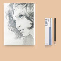 CHINJOO 青竹 素描纸 8K/20张 送12支软炭笔