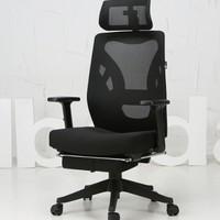 Hbada 黑白调 HDNY138BMJ 甲壳虫经典设计电脑椅