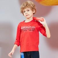 小猪班纳 男童长袖T恤