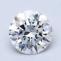 Blue Nile 1.80克拉 圆形钻石(切工EX,成色D,净度VVS2)