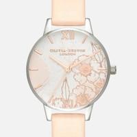 银联专享 : OLIVIA BURTON 抽象花朵 女士时尚腕表